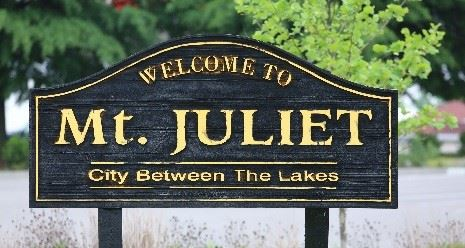 Welcom to Mt Juliet